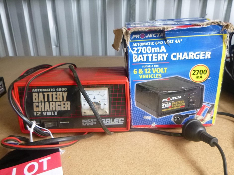 Assorted Battery Chargers</b