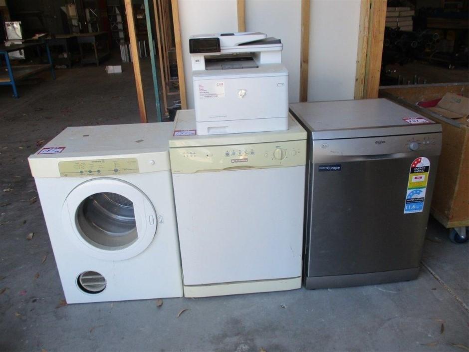4x Home White Good Appliances
