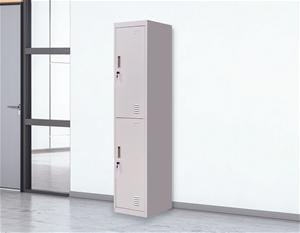 2-Door Vertical Locker for Office Gym Sh