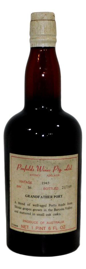 Penfolds Bin S6 Grandfather Port 1945 (1x 1PT 6FL OZ)