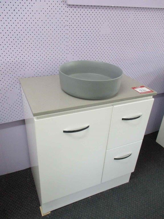 Devon 750 Vanity Cabinet with Basin
