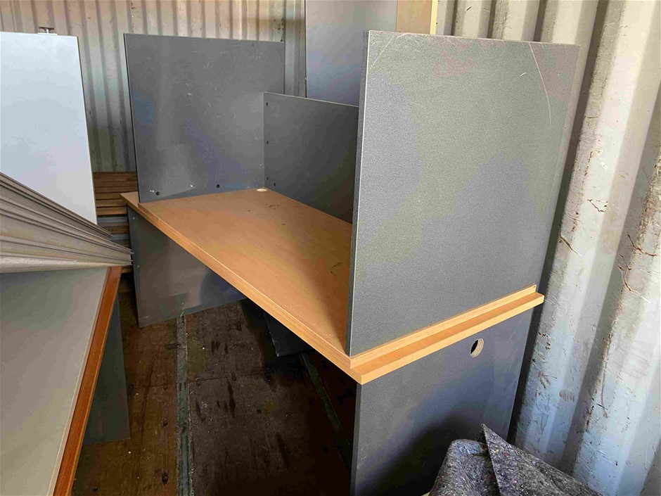 Quantity of Timber Laminate Office Desks