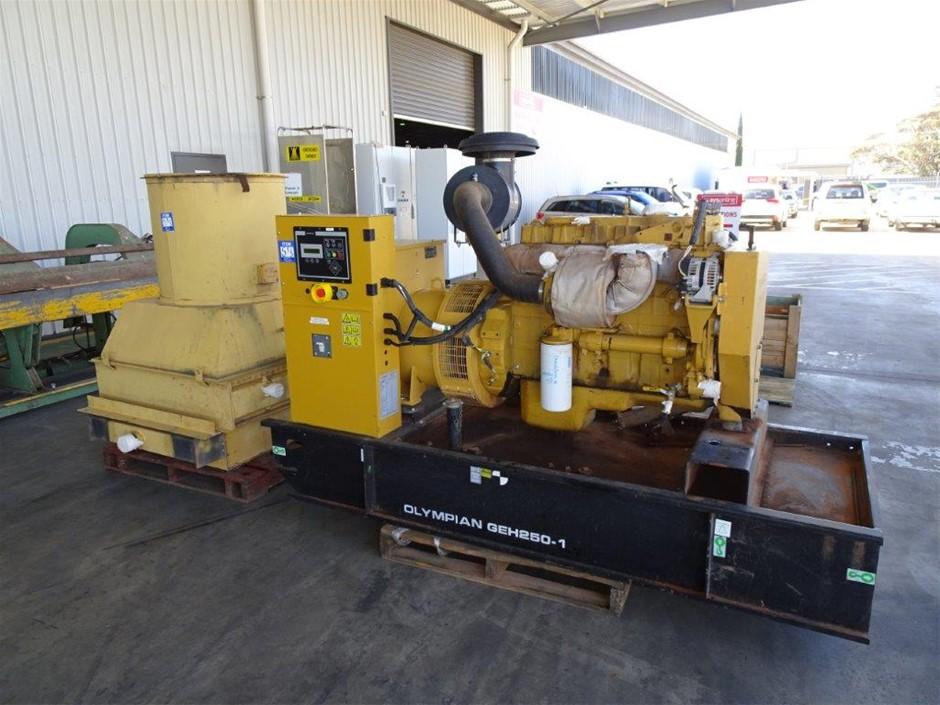 2005 Olympian GEH250-1 250 KVA Industrial Generator (Pooraka, SA)