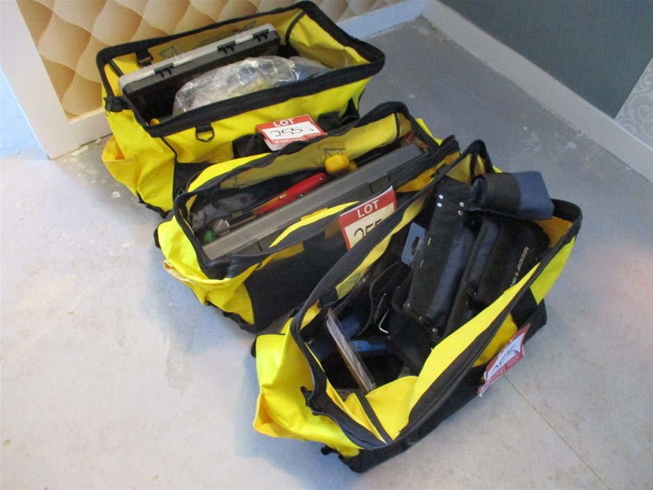 Qty 3 x Medalist Tool Bags with Tools