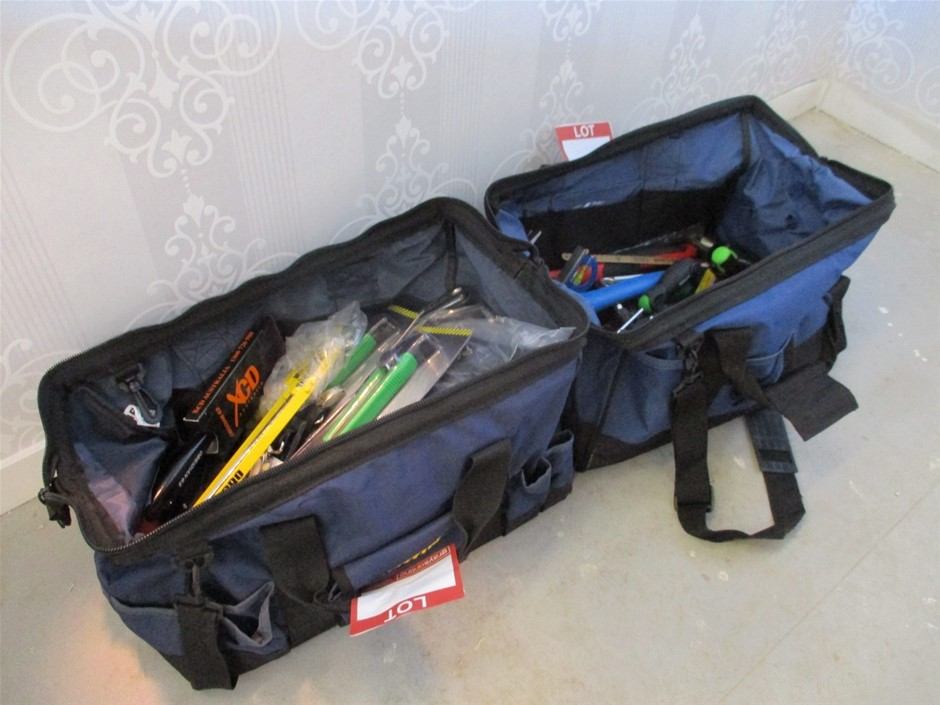 Qty 2 x Erwin Tool Bags with Tools