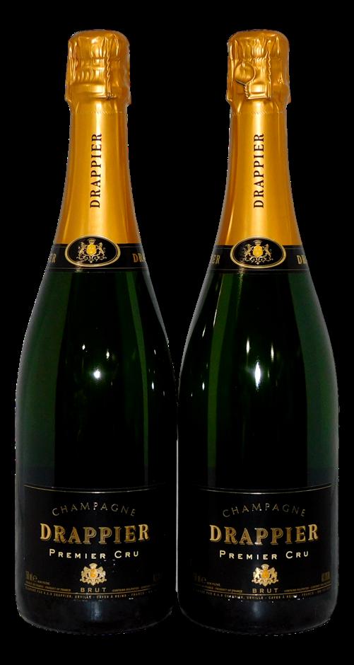Champagne Drappier Premier Cru Brut NV (2x 750mL)