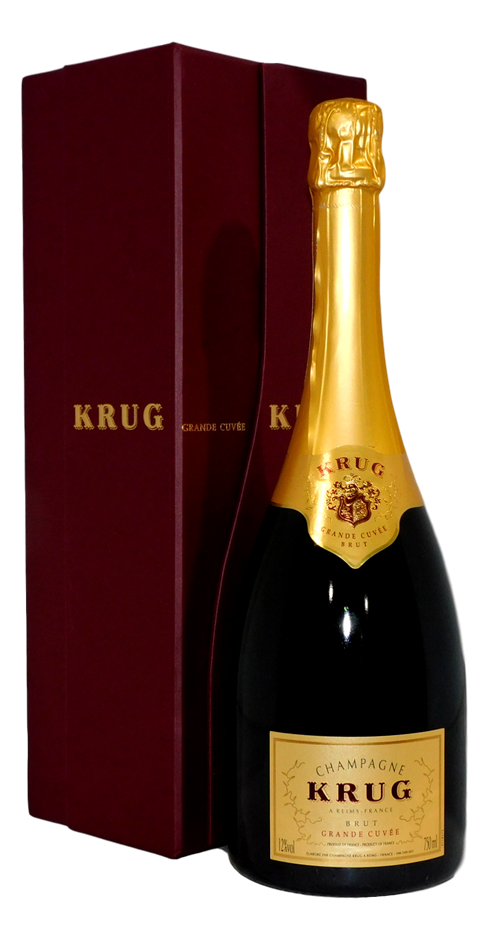 Krug Grande Cuvee Brut Champagne NV (1x 750mL)