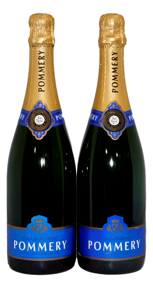 Pommery Brut Royal Champagne NV (2x 750mL)