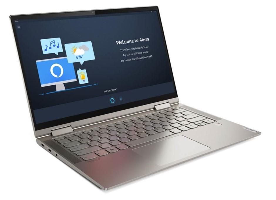Lenovo Yoga C740-14IML 14-inch Notebook, Gold