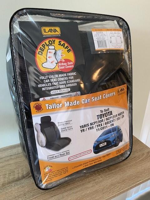 Tailor Made Car Seat Covers - Yaris 4 Door Hatch