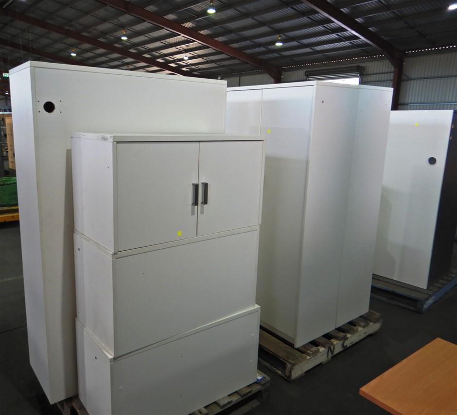 Qty of Office White Furniture (Pooraka, SA)