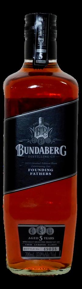 Founding Fathers Rum NV (1x 700mL, Bottle # 49038), QLD. Screwcap