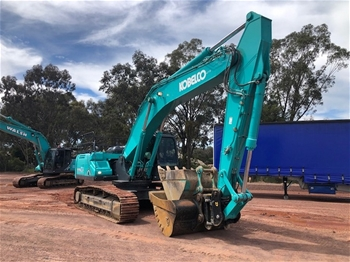 2019 Kobelco SK350 LC-10 Excavator