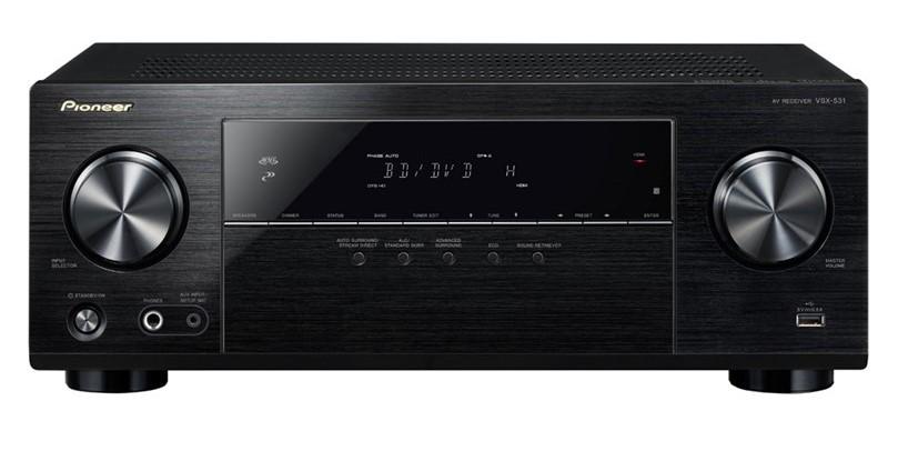 Pioneer 5.1CH AV Receiver with Built-In Bluetooth - Model VSX-531