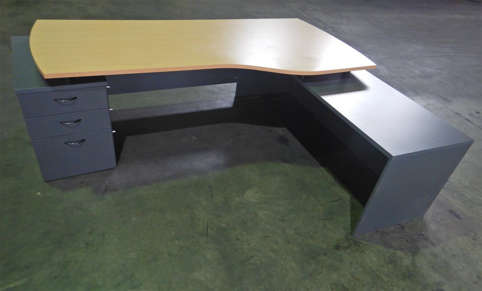 Reception Desk with floating desk top (Pooraka, SA)