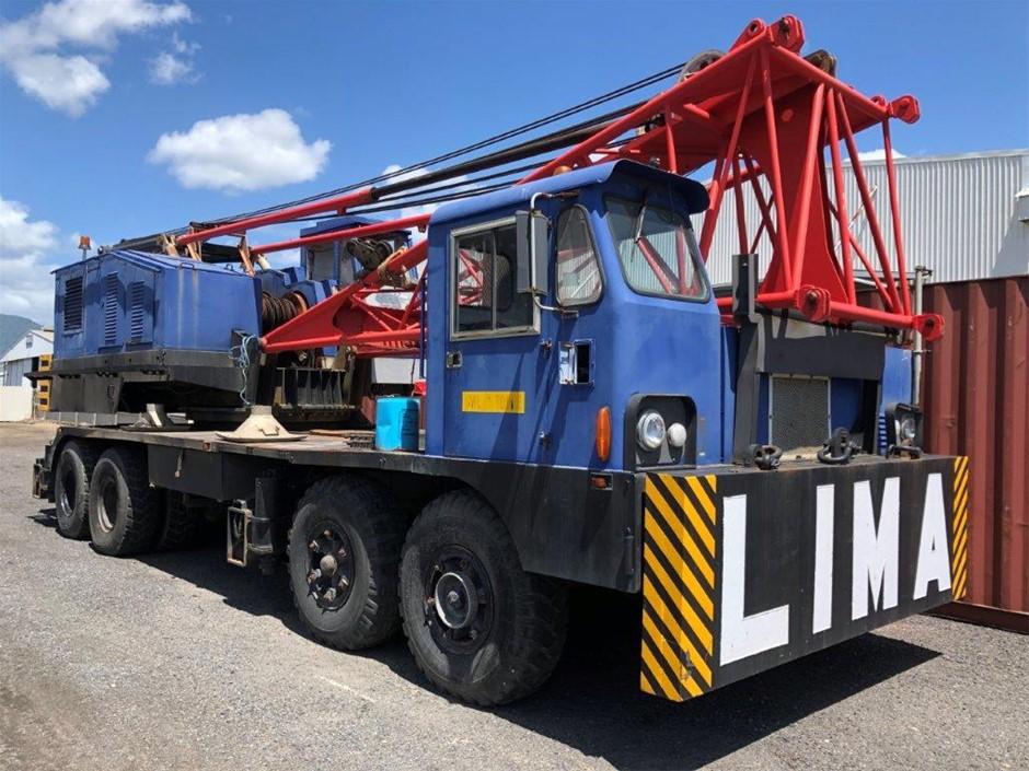 Lima 700 TC Hydraulic Truck Crane