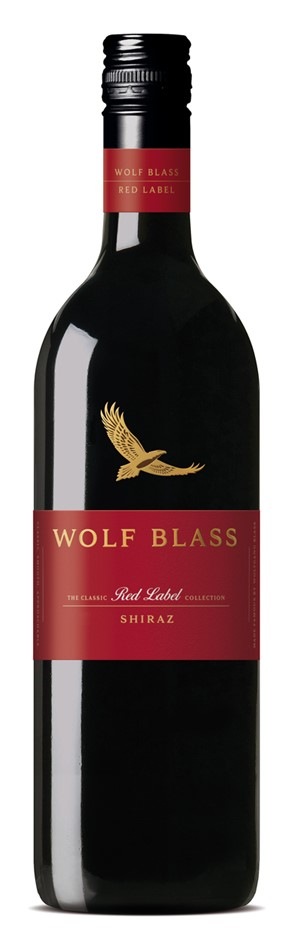 Wolf Blass Red Label Shiraz 2019 (6x 750mL).