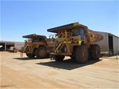 6x Caterpillar 777D Rigid Dump Trucks - EOI