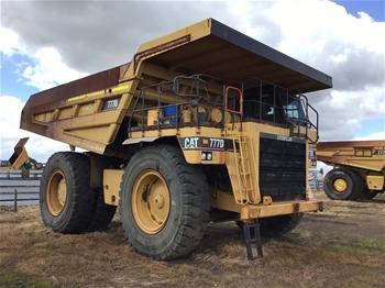 2000 Caterpillar 777D Rigid Dump Truck