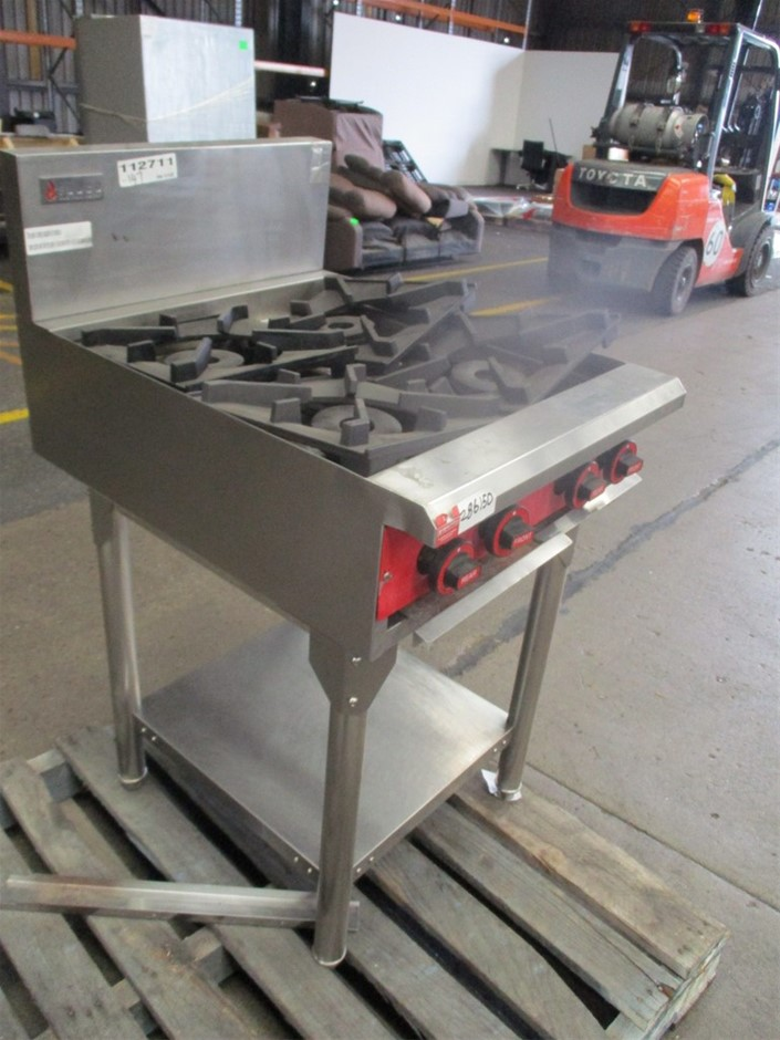 Fuoco Stainless Steel 4 Burner Cooktop (Parts Only/Non-Gas Compliant)