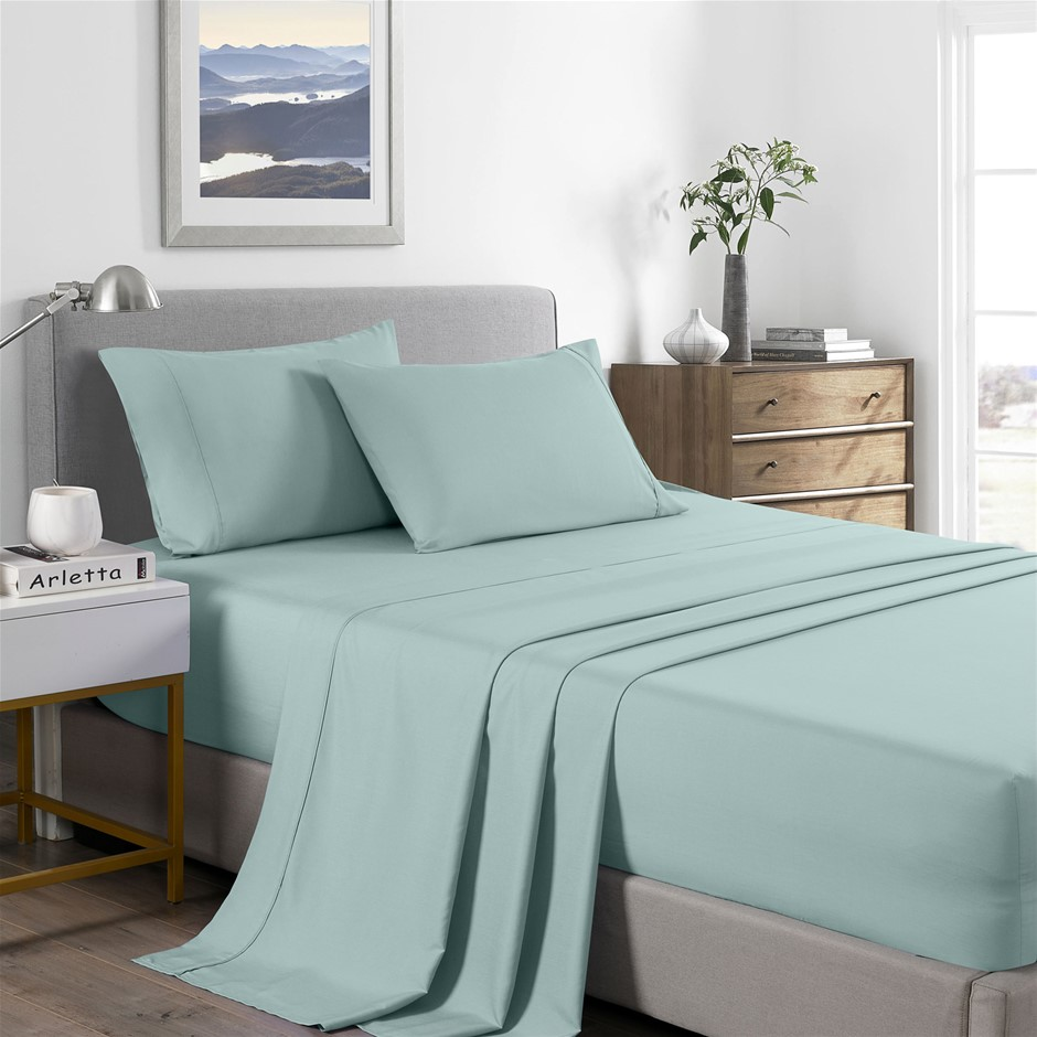 Royal Comfort Bamboo Cooling 2000TC Sheet Set - Double-Frost