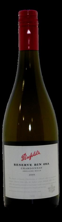 Penfolds Bin 08A Chardonnay 2008 (1x 750mL)