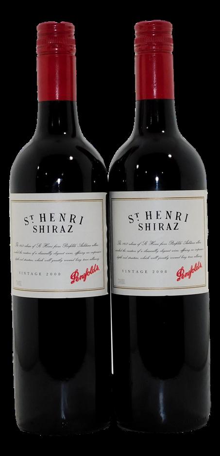 Penfolds St Henri Shiraz 2008 (2x 750mL)