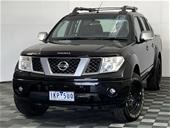 2009 Nissan Navara ST-X 4x4 Titanium Edition T/D Auto D/Cab
