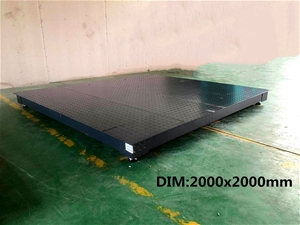 5T on-ground scale with wireless display