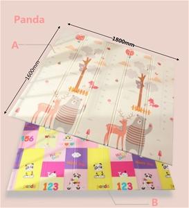 Kids Foldable Crawling Mat (Panda 1800 x