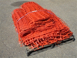 Pallet of Safety Barriers