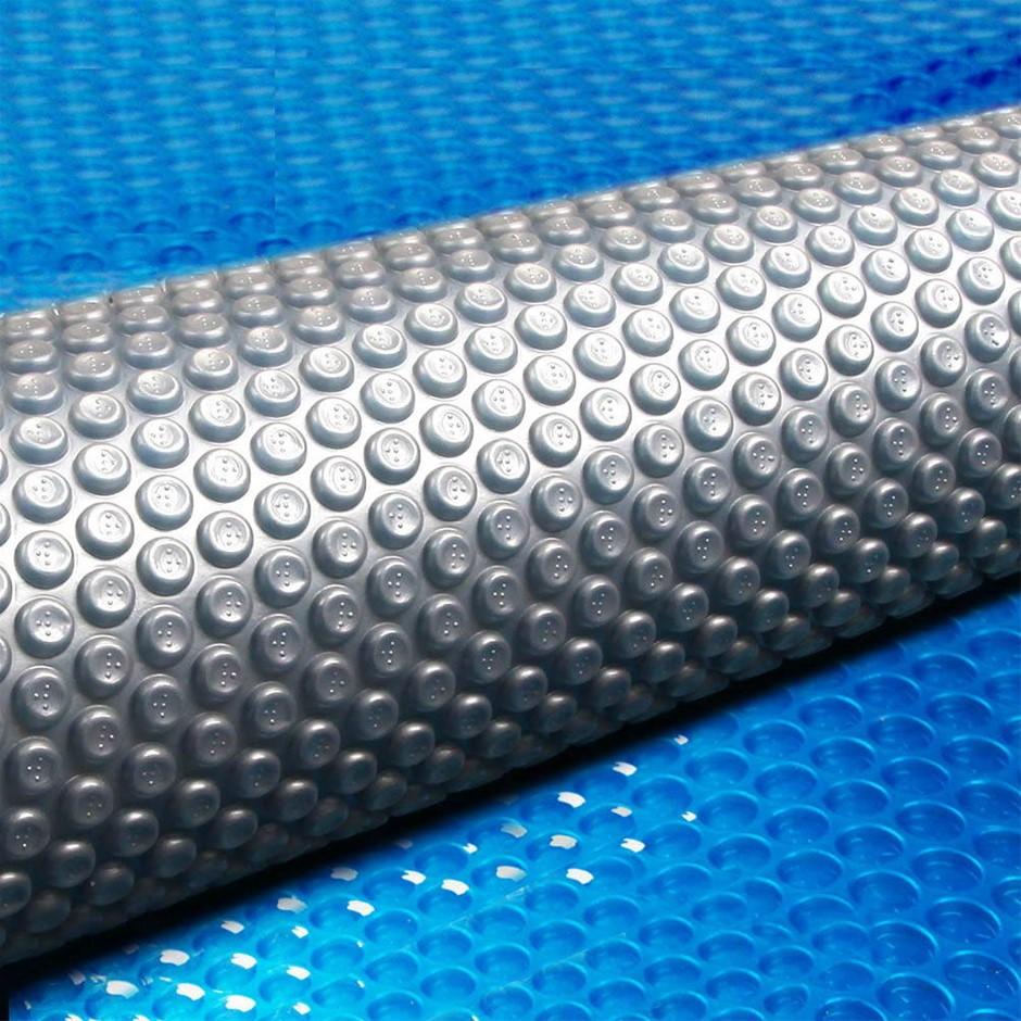 Aquabuddy 7 x 4M Solar Swimming Micron Pool Cover - Blue