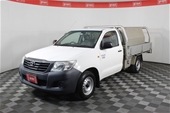 2 x Unreserved Toyota Hilux's