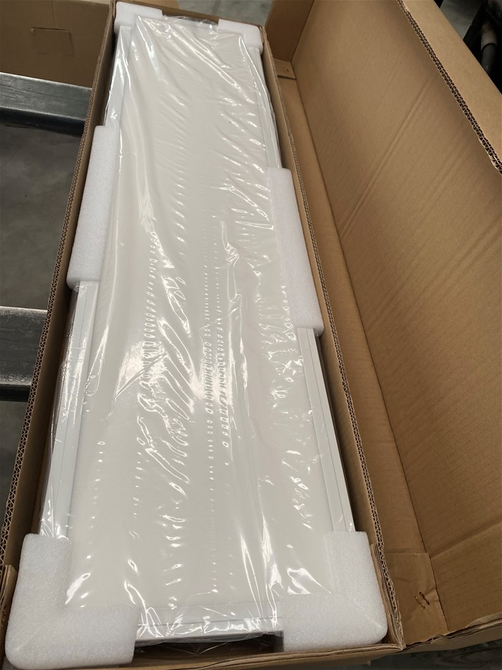 NLight 36W LED Panel Ceiling Light 1200x300mm With SAA Driver White Trim