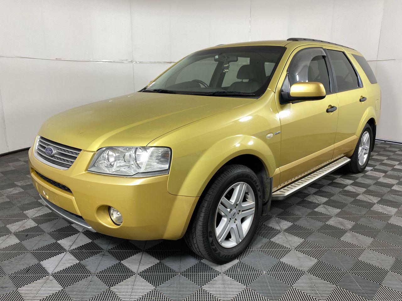 2005 Ford Territory Ghia (4x4) SX Automatic Wagon
