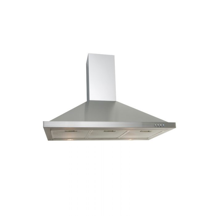 Euro Appliances EA90SX - 90cm Stainless Steel Canopy
