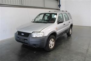 2002 Ford Escape XLS BA Automatic Wagon