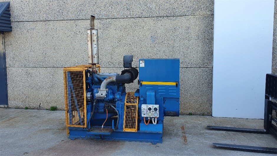 Nissan Diesel 60KVA Generator SP&DP