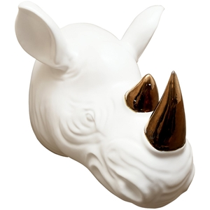 Rhino Wall Décor (Size: L 28 x W 31.5 x