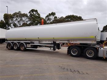 2008 Marshall 6 Triaxle Fuel Tanker