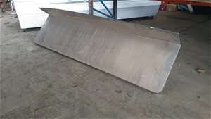 Stainless Steel Wall Bench
