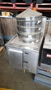 Commercial 3 Tray Steamer