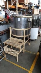 Stainless Steel Stir Tank