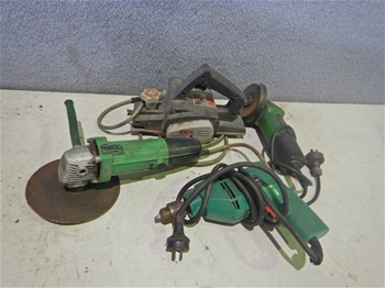 Various Electric Hand Tools