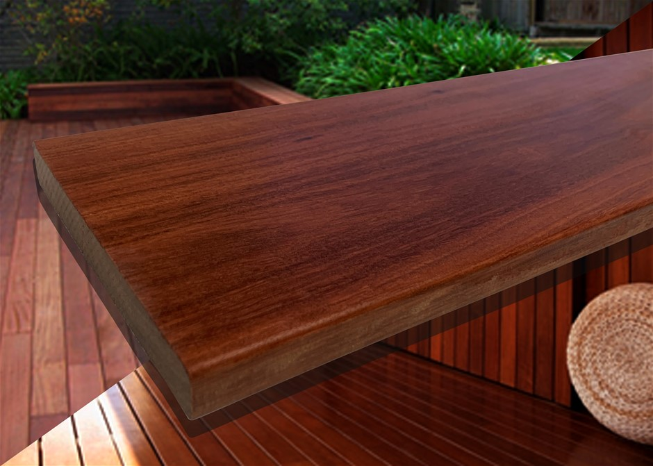 26.055m² of Queensland Red Ironbark Hardwood Decking - 135mm x 19mm