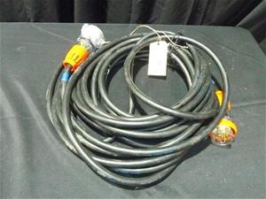 415 volt Extension Lead