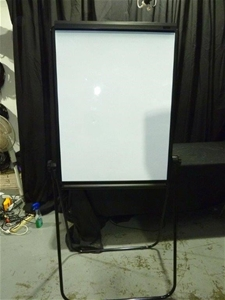 Qty 4 x Dual Sided Flip Board / Whiteboa