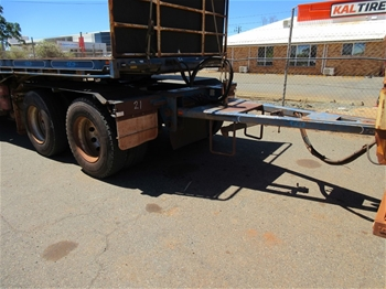 2011 Vawdrey Dual Axle Converter Dolly Trailer