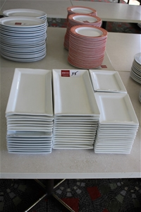 Assortment of Square/Rectangle Ceramic P