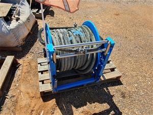 Steel Hose Reel assembly. Unused conditi